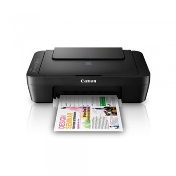 CANON Pixma E410 Compact All-In-One (Print, Scan, Copy) Low-Cost Printing Printer