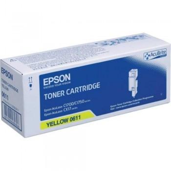 Epson SO50611 Yellow High Cap Toner Cartridge (Item No:EPS SO50611)