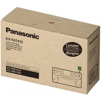 Panasonic KX-FAT410 Toner Cartridge, KX-MB1500CX/1520/1530 Black Genuine - No Warranty (Item no: P KX FAT410)