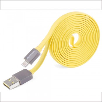 Yoobao Colourful Lightning YB406 80cm Cable - Yellow