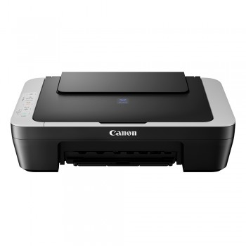 CANON PIXMA E410 Compact All-In-One (Print, Scan, Copy) Low-Cost Printing Printer - GREY