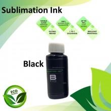 Compatible Black Color Sublimation Ink 100ML for Epson EcoTank R230 / R330 / R270 / R290 / T50 / 1390 / 1400 Printer