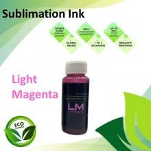 Compatible Light Magenta Color Sublimation Ink 100ML for Epson EcoTank R230 / R330 / R270 / R290 / T50 / 1390 / 1400 Printer