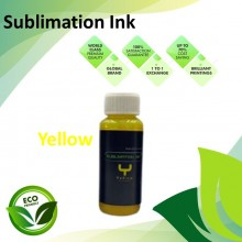 Compatible Yellow Color Sublimation Ink 100ML for Epson EcoTank R230 / R330 / R270 / R290 / T50 / 1390 / 1400 Printer