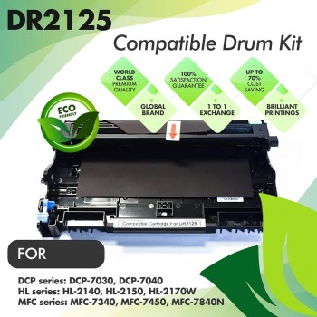 Brother DR2125 Compatible Drum Kit