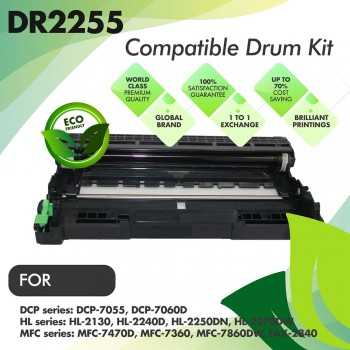 Brother DR2255 Compatible Drum Kit