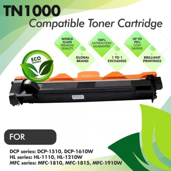 Brother TN1000 Compatible Toner Cartridge