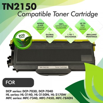 Brother TN2150 Compatible Toner Cartridge
