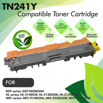 Brother TN241 Yellow Compatible Toner Cartridge