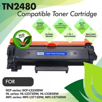Brother TN2480 Compatible Toner Cartridge
