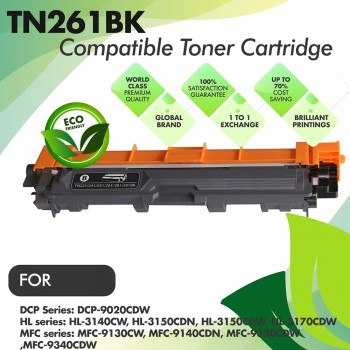 Brother TN261 Black Compatible Toner Cartridge