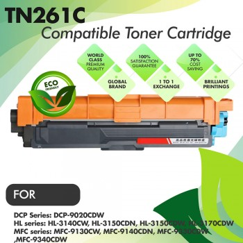 Brother TN261 Cyan Compatible Toner Cartridge