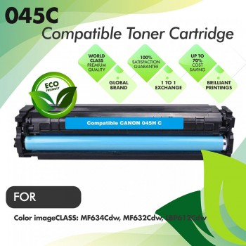 Canon Cartridge 045 Cyan Premium Compatible Toner