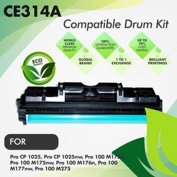 HP CE314A Compatible Drum Kit