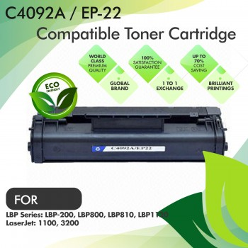 HP C4092A / Canon EP-22 Compatible Toner Cartridge