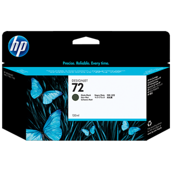 HP 72 130-ml Matte Black Ink Cartridge (3WX06A)