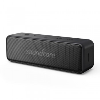 SoundCore by Anker - Motion B Portable Bluetooth Speaker Black