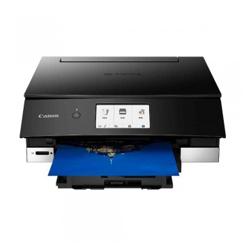 Canon Pixma TS8370 Wireless Photo All-In-One Inkjet Printer and Auto Duplex Printing - Black