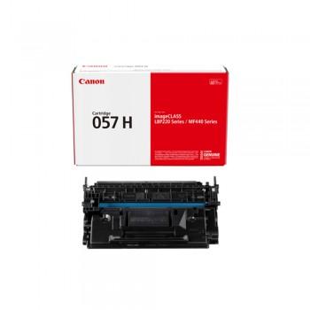 Canon 057H Toner Cartridge - Black, 9.2k