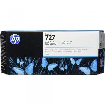 HP 727 300-ml Photo Black DesignJet Ink Cartridge (F9J79A)