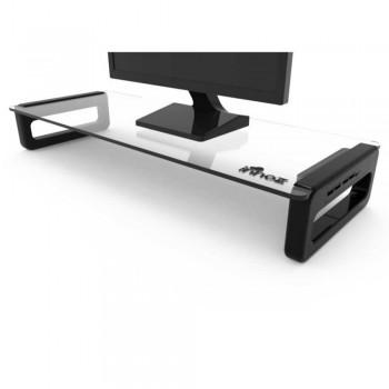 Innoz InnoStation Monitor Stand with 4-Port USB Hub - Black