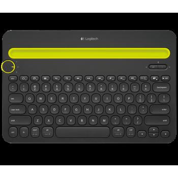 Logitech Bluetooth Multi-Device Keyboard K480 - Black