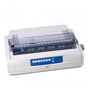 Oki ML721 Plus 9 Pin c/w Power Cord & USB Cable Dot Matrix Printer - 42114031 (Item No: OKI ML721 PLUS)