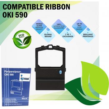 LTECH OKI 590 Ribbon Cartridge (Compatible)