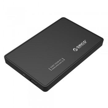 "Orico 2588US3 2.5"" USB 3.0 Portable HDD Enclosure - Black"