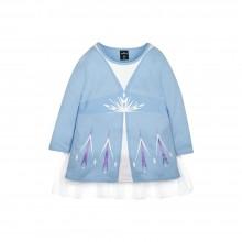 Frozen 2 Series Elsa Cloak Kids Tee - (Blue, Size 110)