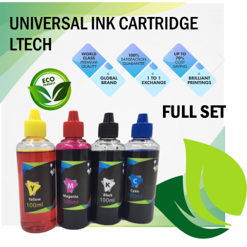 UNIVERSAL PRINTER REFILL INK FOR ALL BRAND