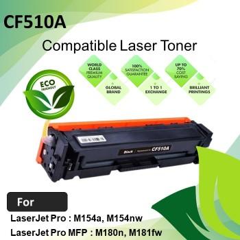 HP CF510A Black Compatible Laser Toner Cartridge