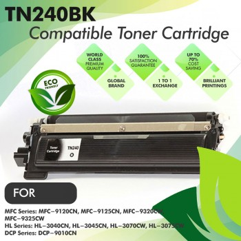 Brother TN240 Black Compatible Toner Cartridge