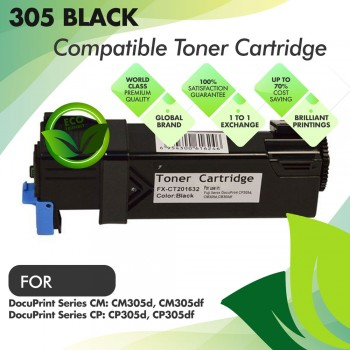 Fuji Xerox 305 Black Compatible Toner Cartridge