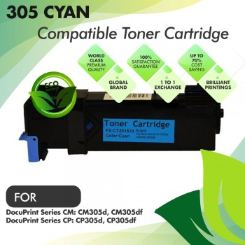 Fuji Xerox 305 Cyan Compatible Toner Cartridge