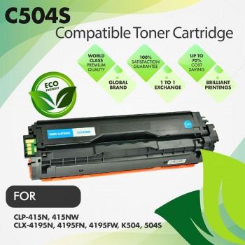 Samsung CLT-C504S Cyan Premium Toner Cartridge
