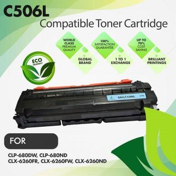 Samsung CLT-C506L Cyan Premium Compatible Toner Cartridge