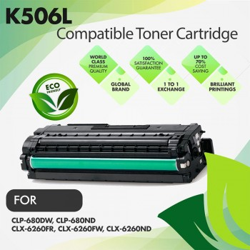 Samsung CLT-K506L Black Premium Compatible Toner Cartridge