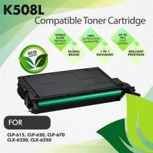 Samsung CLT-K508L Black Premium Compatible Toner Cartridge