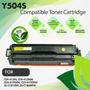 Samsung CLT-Y504S Yellow Premium Toner Cartridge