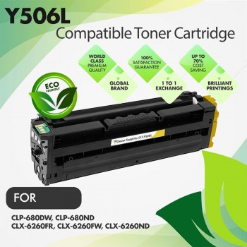 Samsung CLT-Y506L Yellow Premium Compatible Toner Cartridge