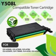 Samsung CLT-Y508L Yellow Premium Compatible Toner Cartridge