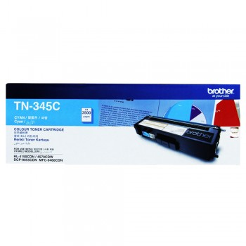 Brother TN-345 Cyan High Yield Toner